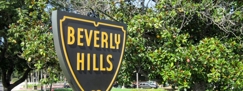 Beverly Hills fault boundaries